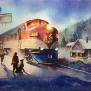 Winter Station - Sold
